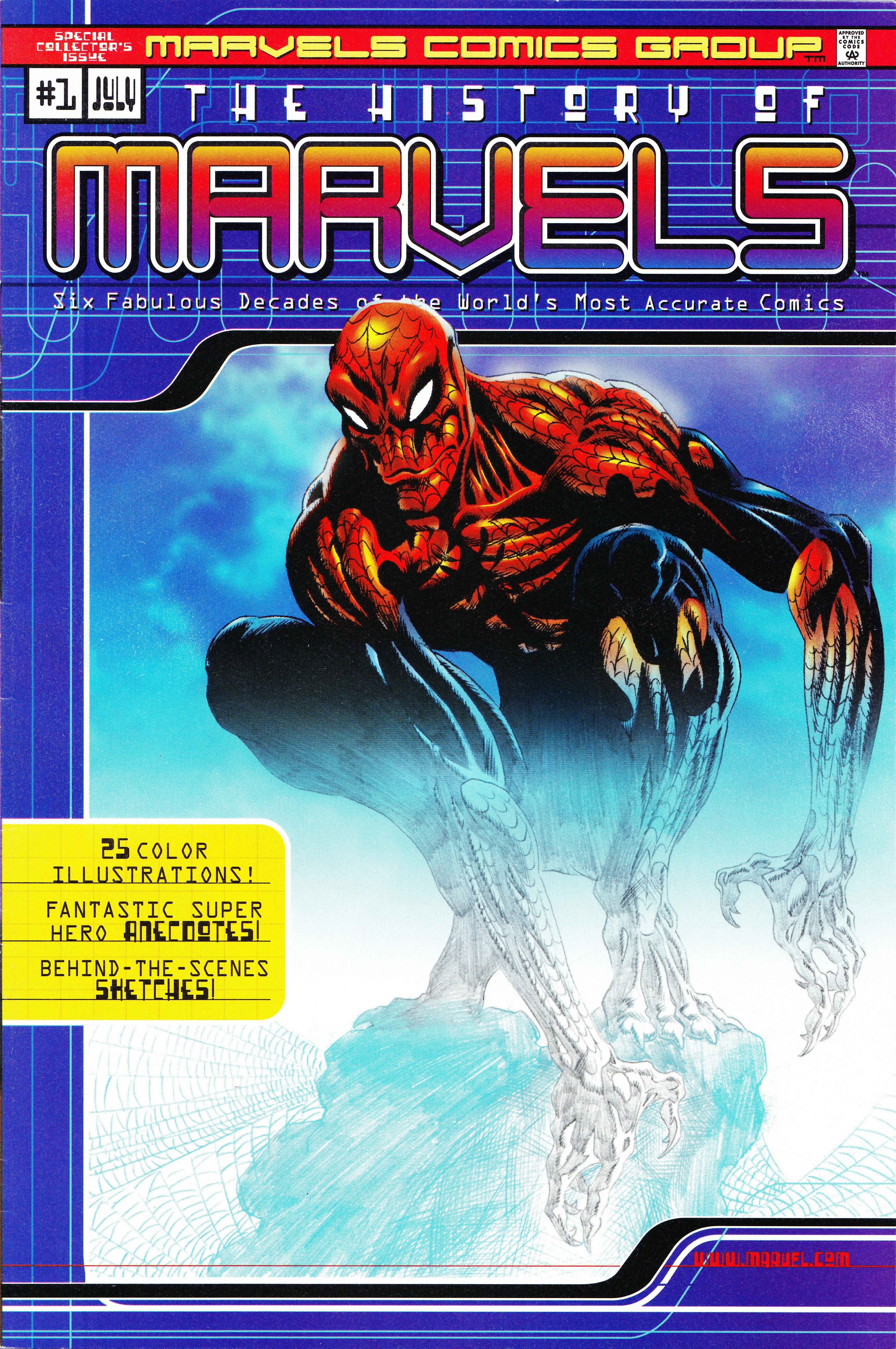 History of Marvels Comics Vol 1 1