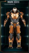 Iron Man Armor MK XXXVI (Earth-199999)