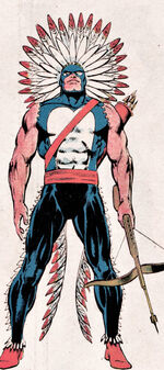 Jason Strongbow (Earth-616) from Official Handbook of the Marvel Universe Vol 1 1 0001.jpg