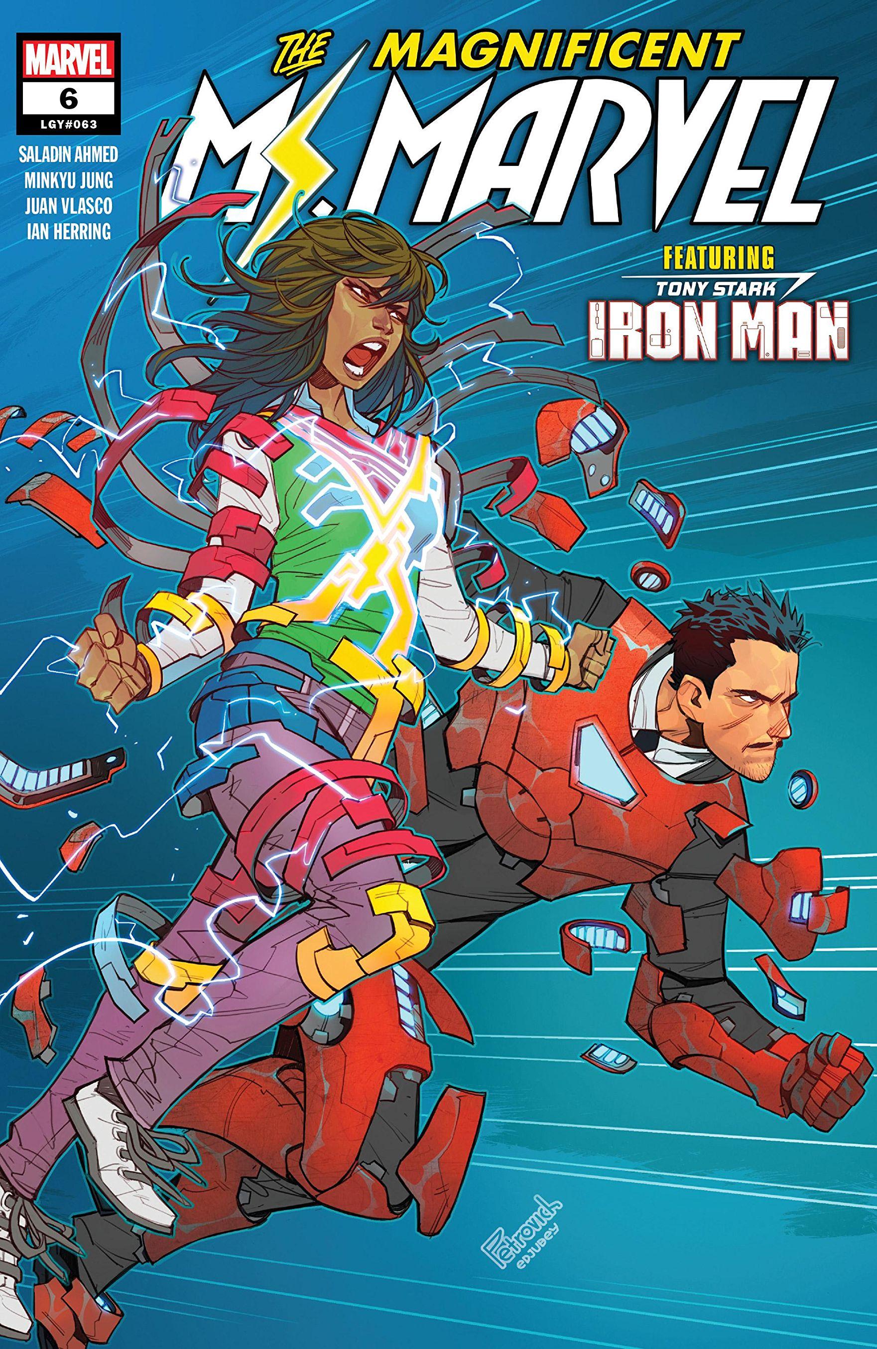 Magnificent Ms. Marvel Vol 1 6
