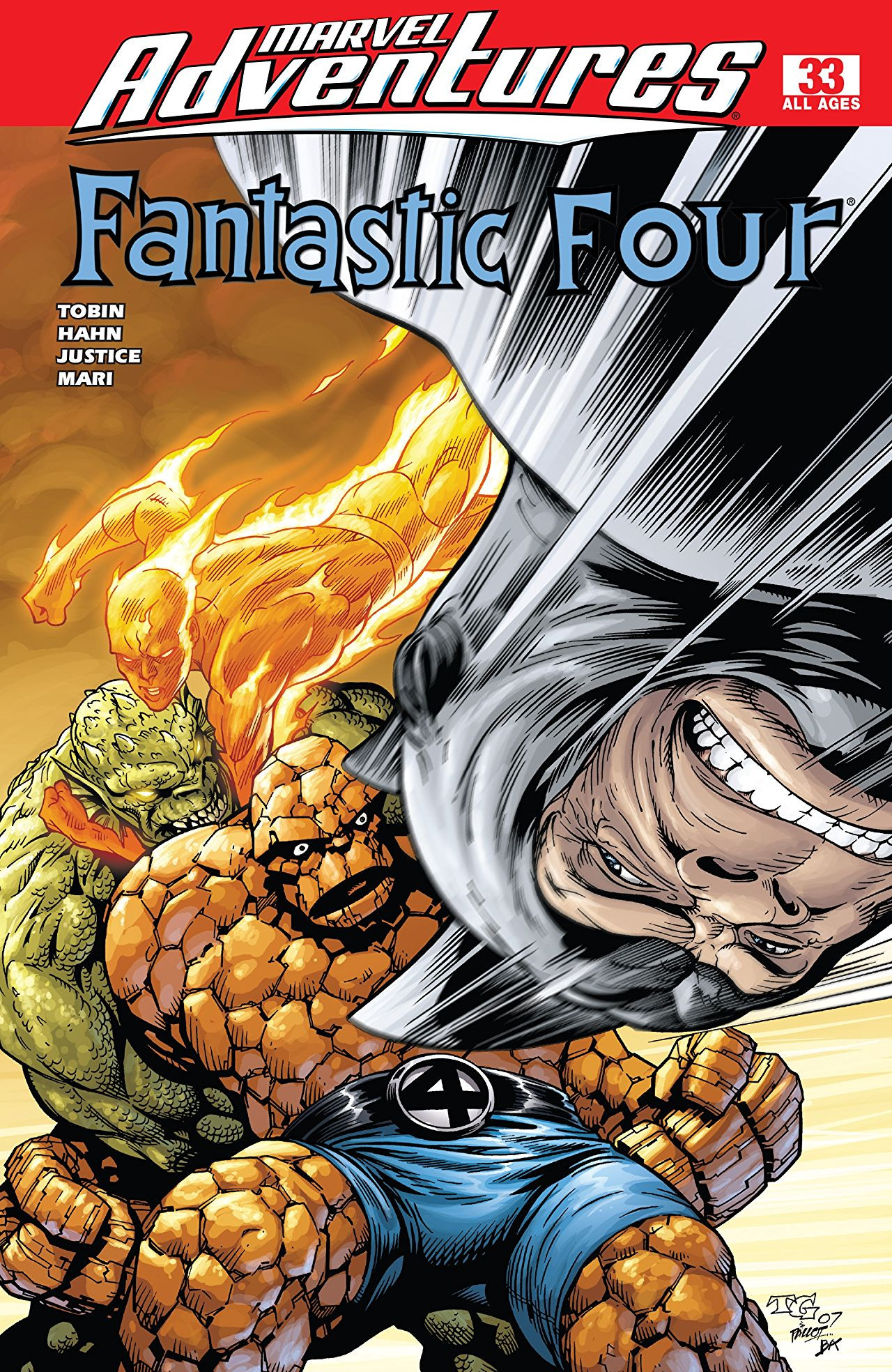 Marvel Adventures: Fantastic Four Vol 1 33