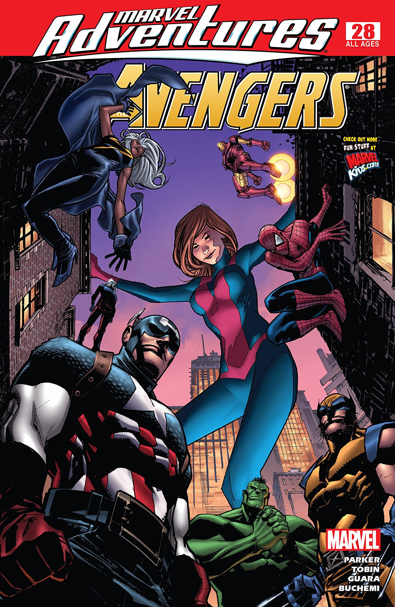 Marvel Adventures: The Avengers Vol 1 28