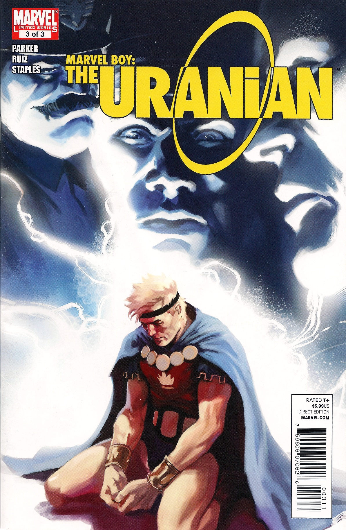 Marvel Boy: The Uranian Vol 1 3