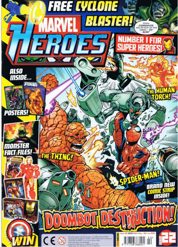 Marvel Heroes (UK) Vol 1 22