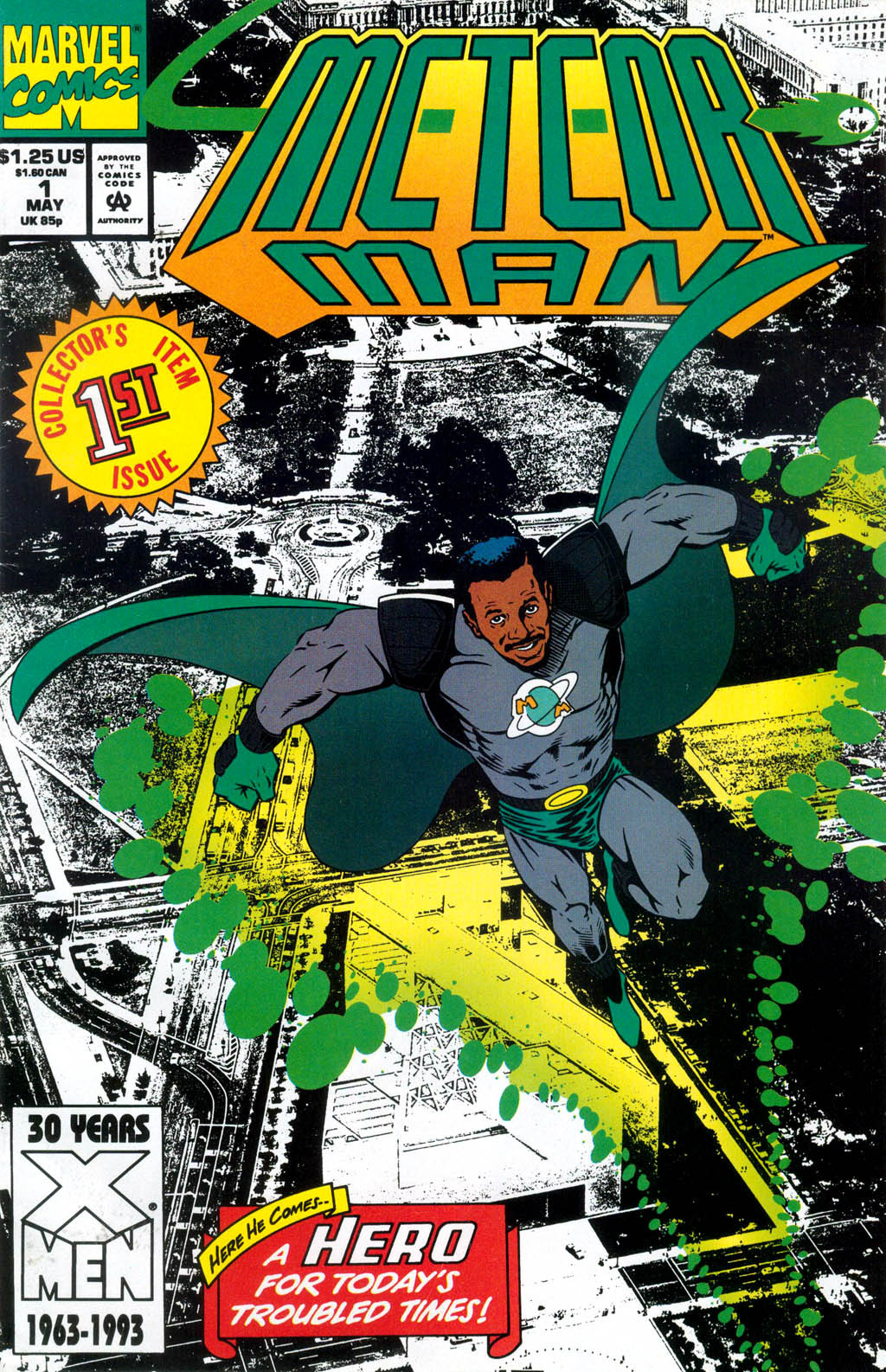 Meteor Man Vol 1 1