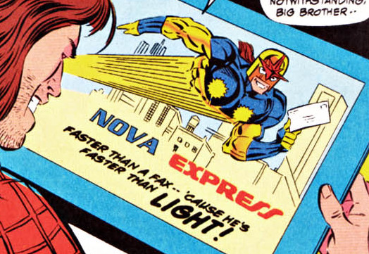 Nova Express (Earth-616)/Gallery