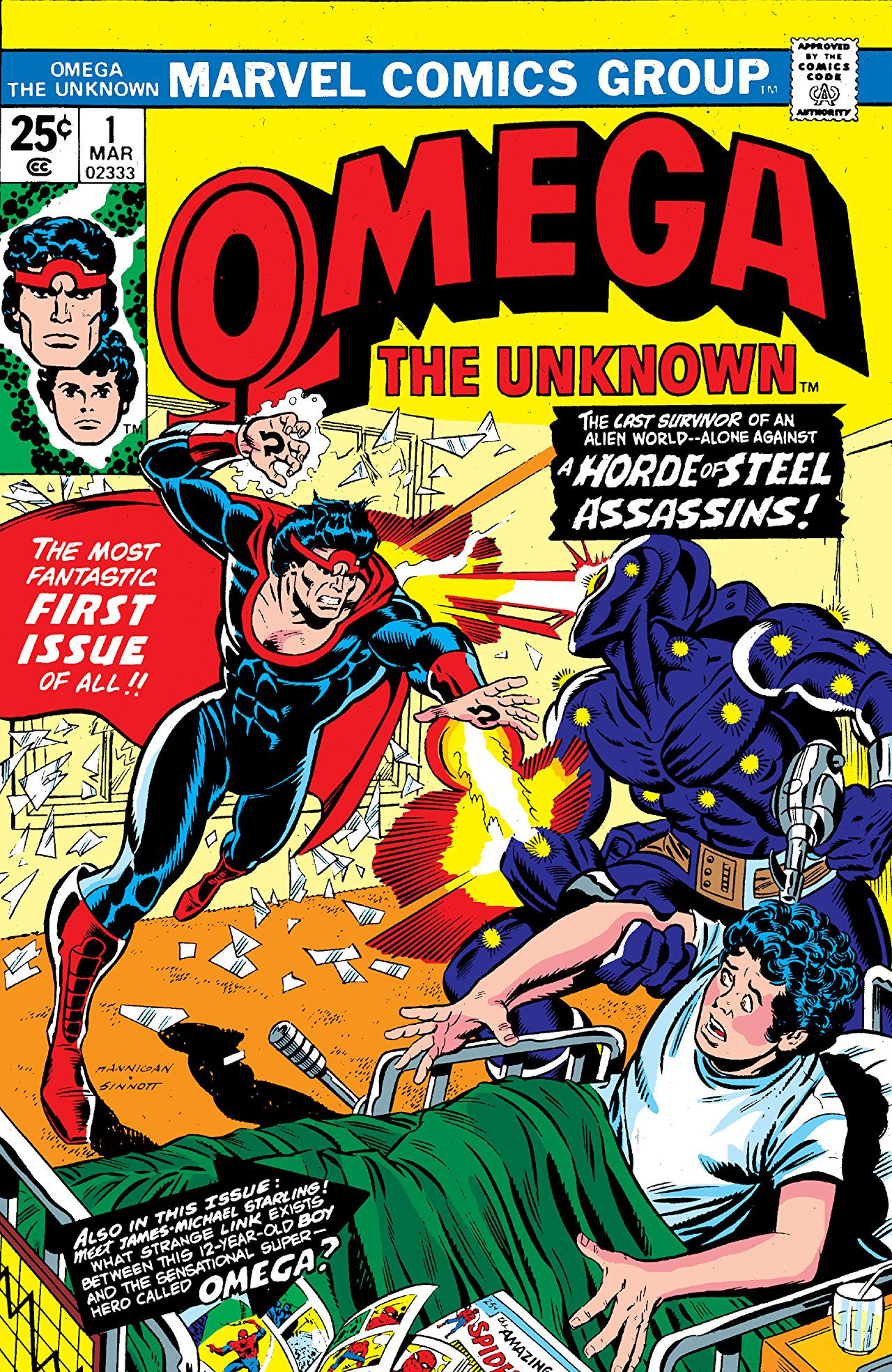 Omega the Unknown Vol 1