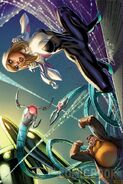 Spider-Gwen Vol 2 7 Campbell Connecting Variant B Textless