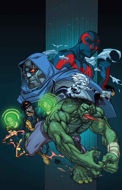 Spider-Man 2099 Vol 3 4 Marvel '92 Variant Textless.jpg