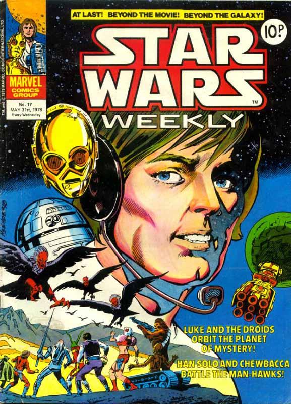 Star Wars Weekly (UK) Vol 1 17
