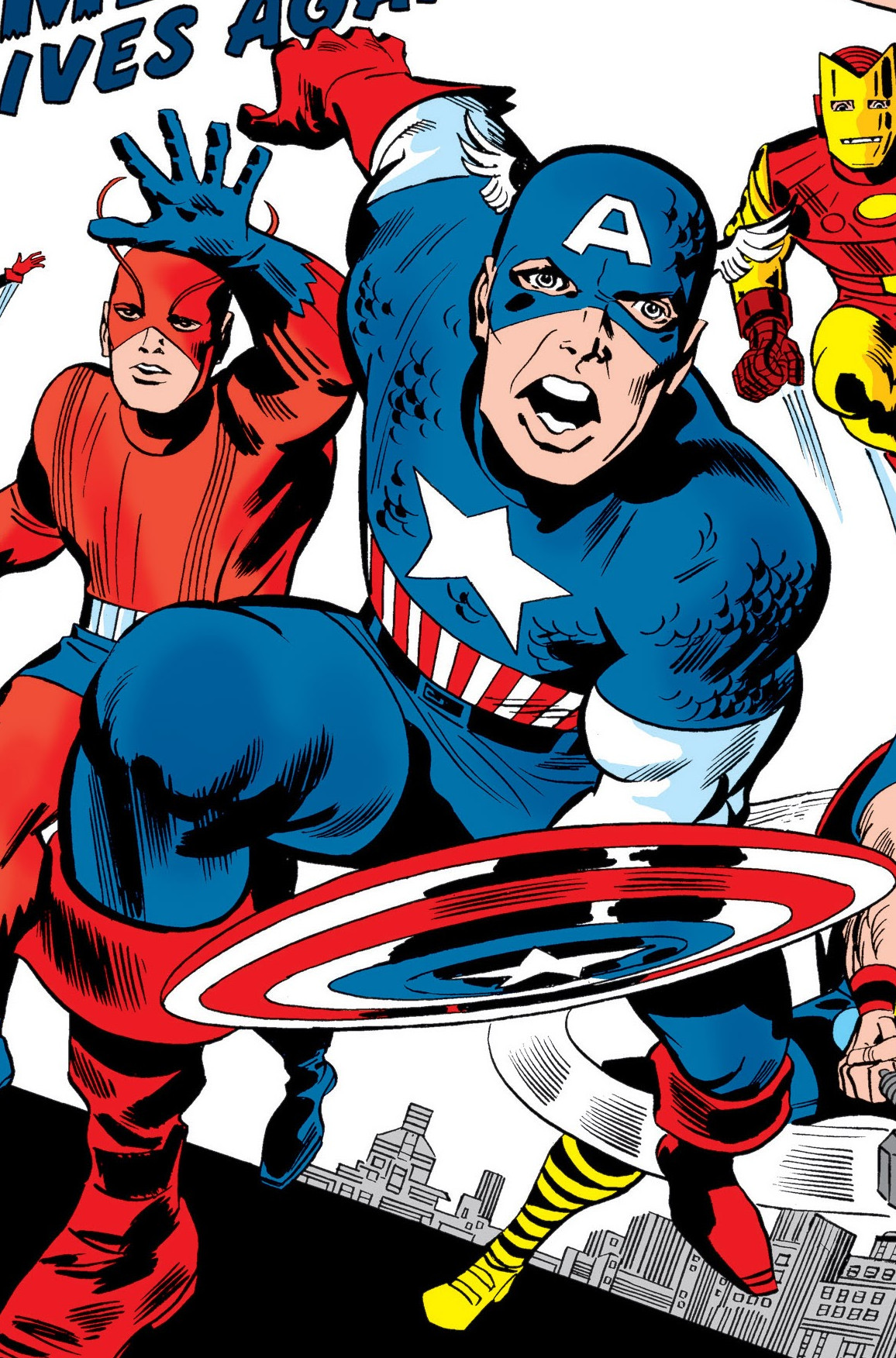 Steve Rogers (Earth-616) Captain America joins the Avengers in Avengers Vol 1 4.jpg