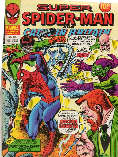 Super Spider-Man & Captain Britain Vol 1 249