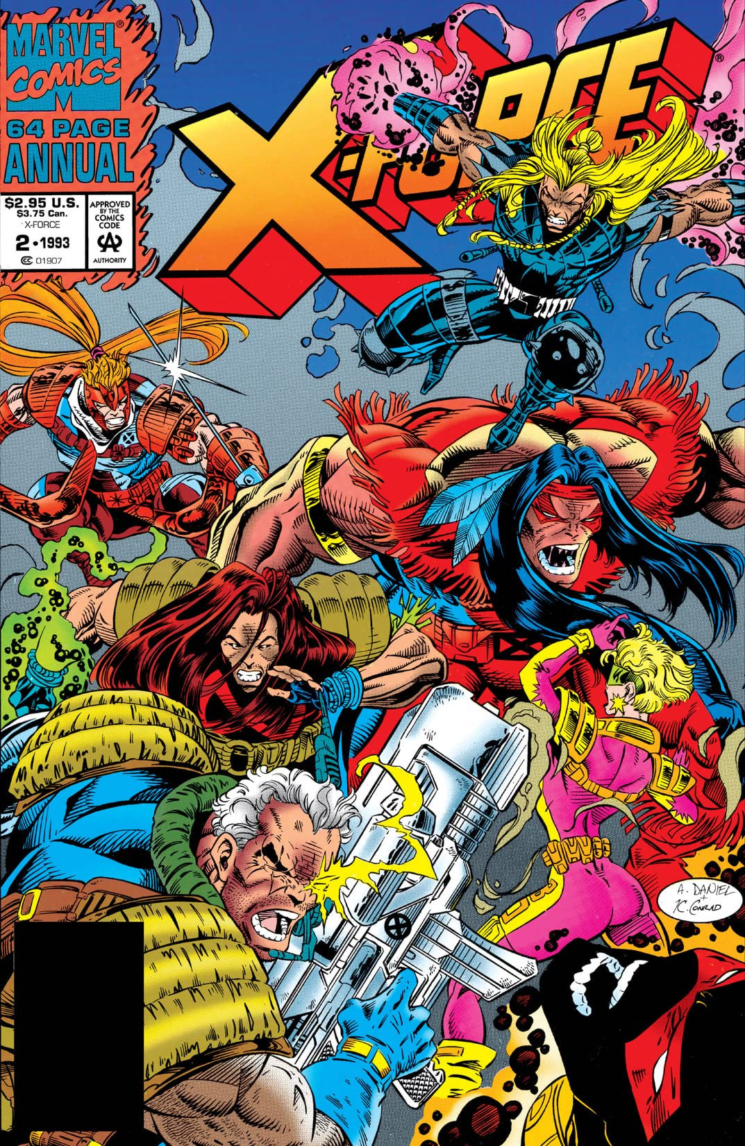 X-Force Annual Vol 1 2