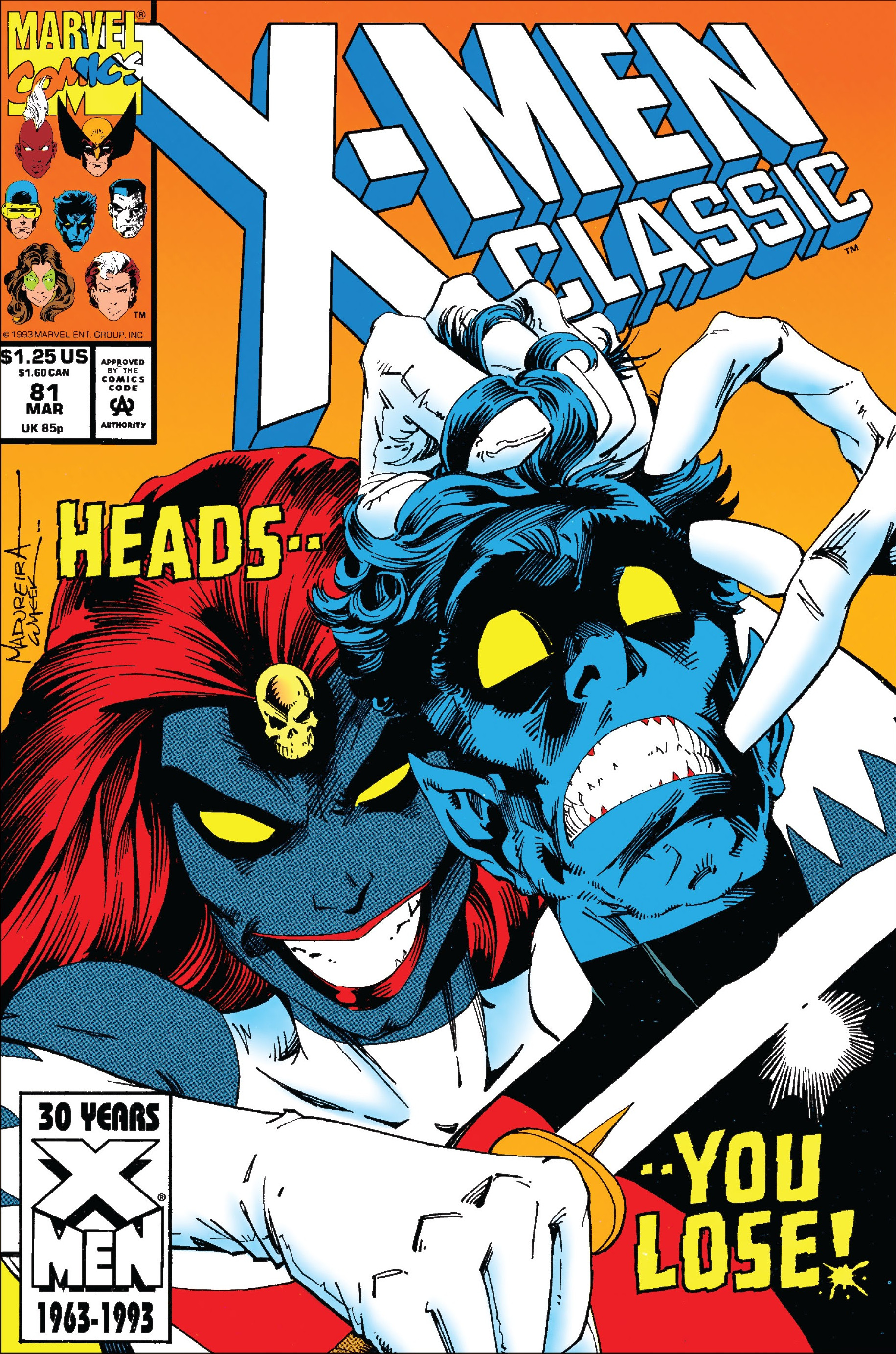 X-Men Classic Vol 1 81