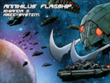 Annihilus' Flagship