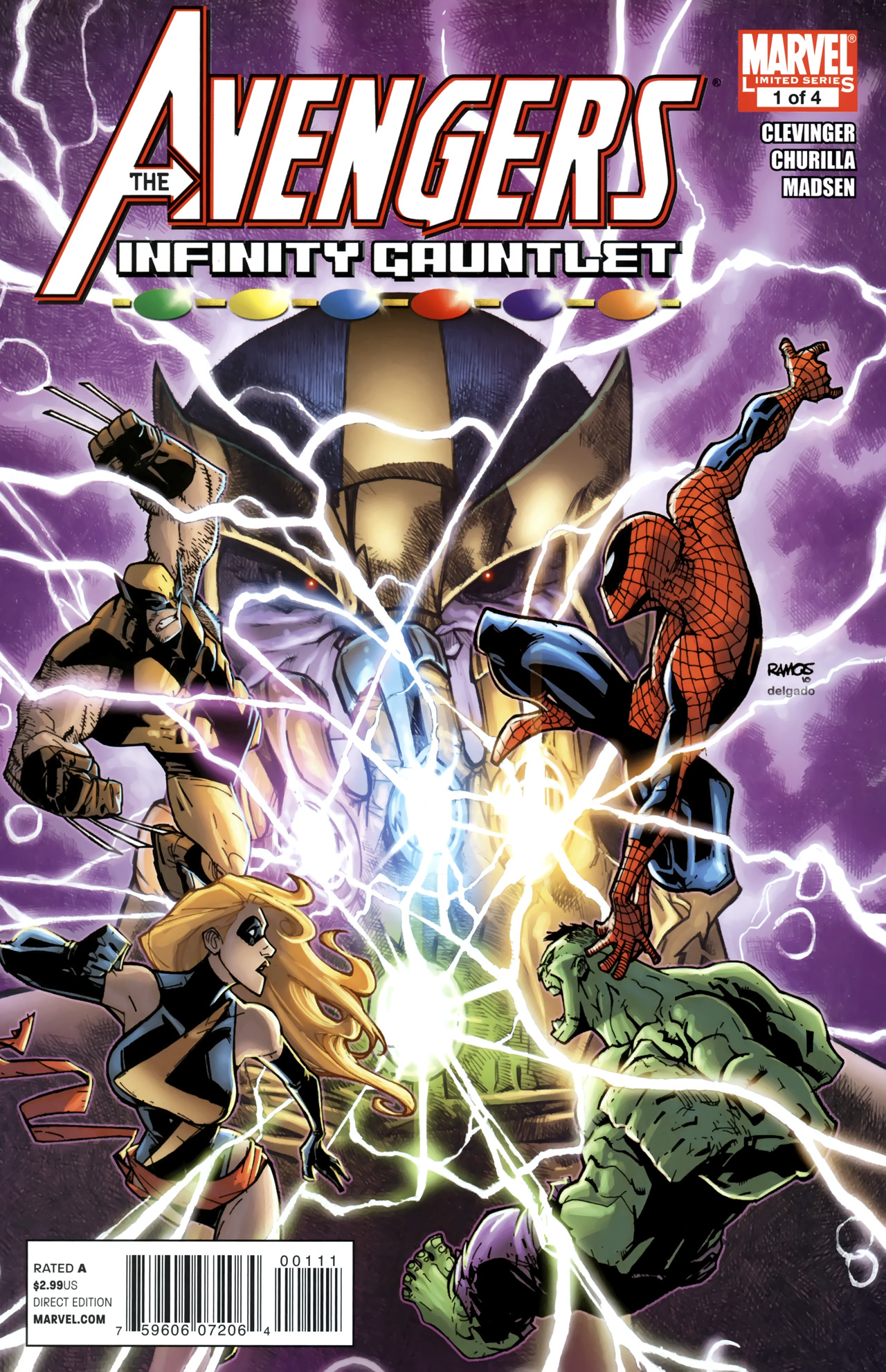 Avengers & the Infinity Gauntlet Vol 1 1