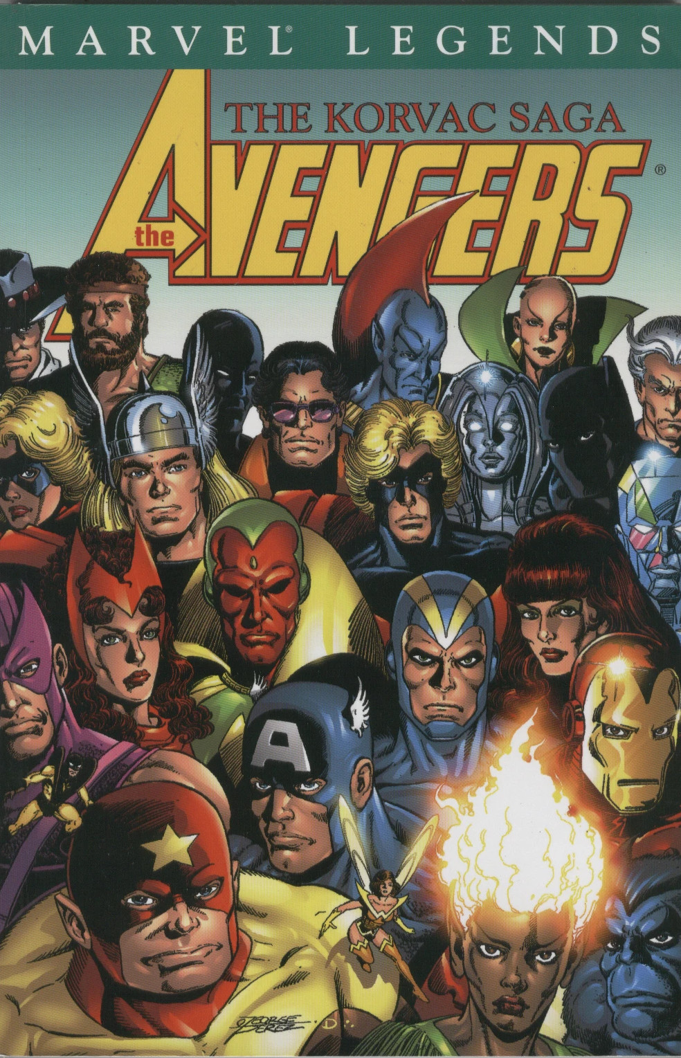 Avengers Legends - Korvac Saga TPB Vol 1