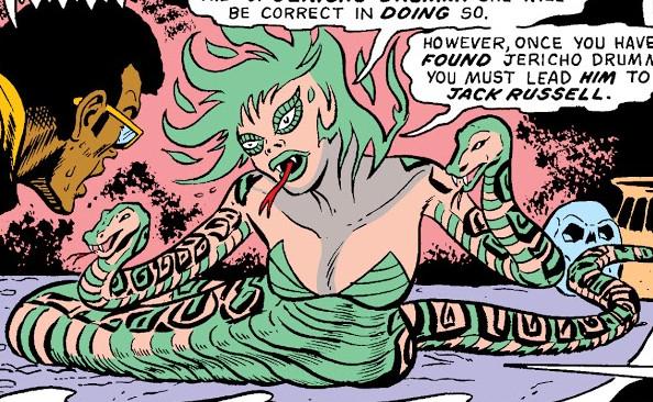 Burning Snake (Earth-616) from Werewolf by Night Vol 1 38 0001.jpg