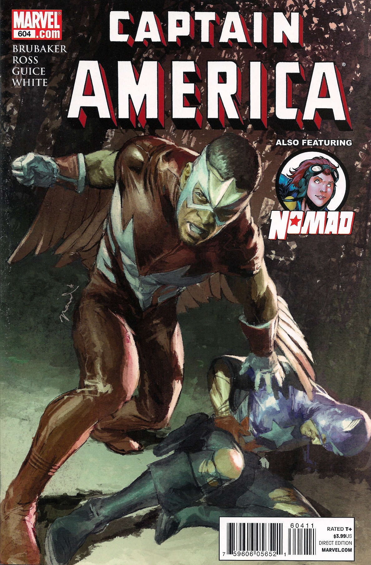 Captain America Vol 1 604