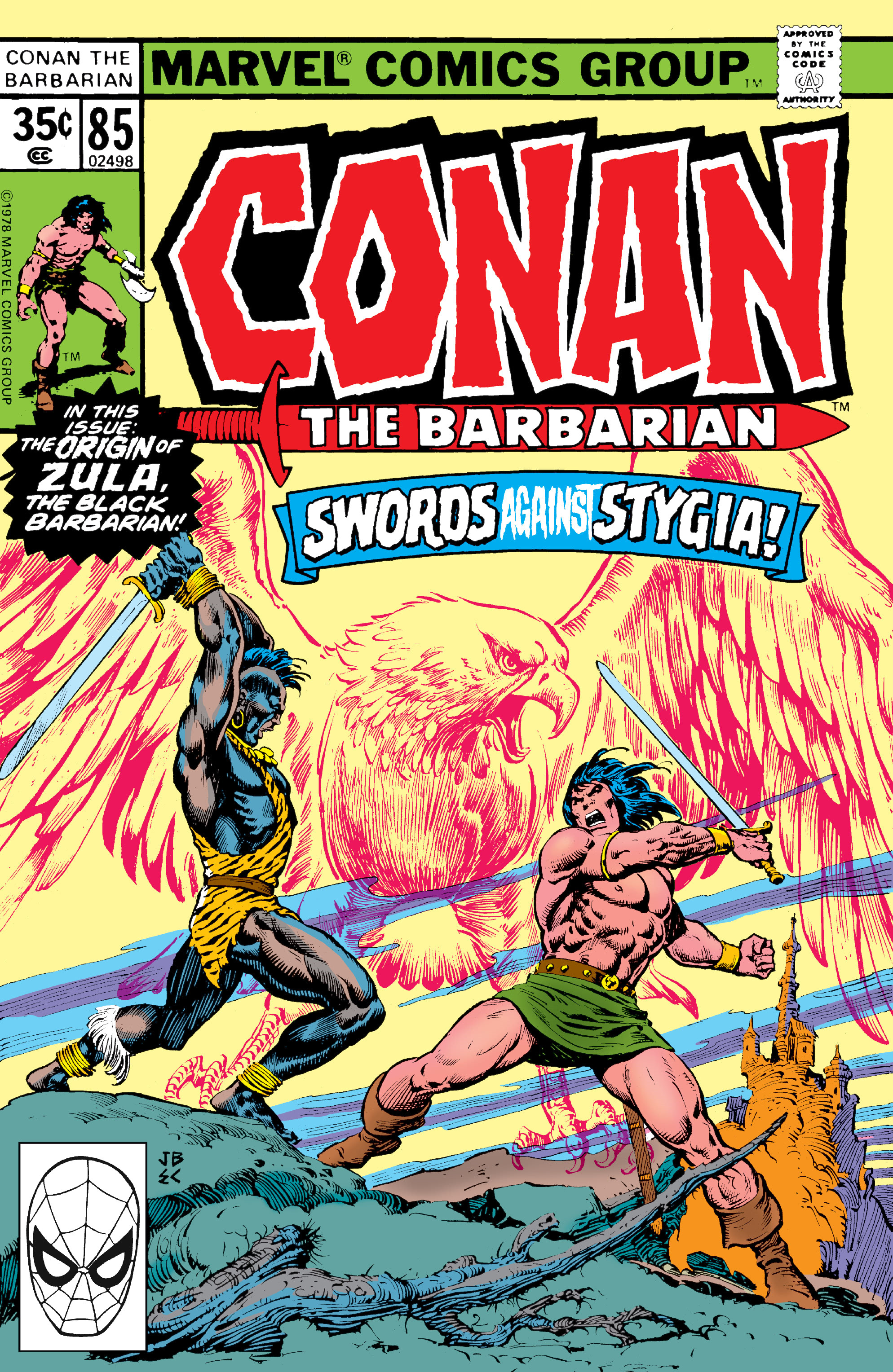 Conan the Barbarian Vol 1 85