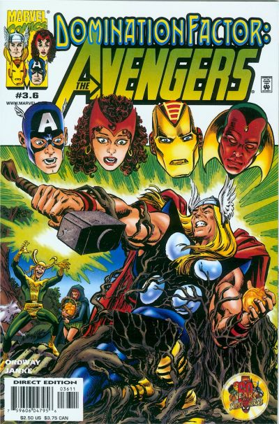 Domination Factor: Avengers Vol 1 3.6