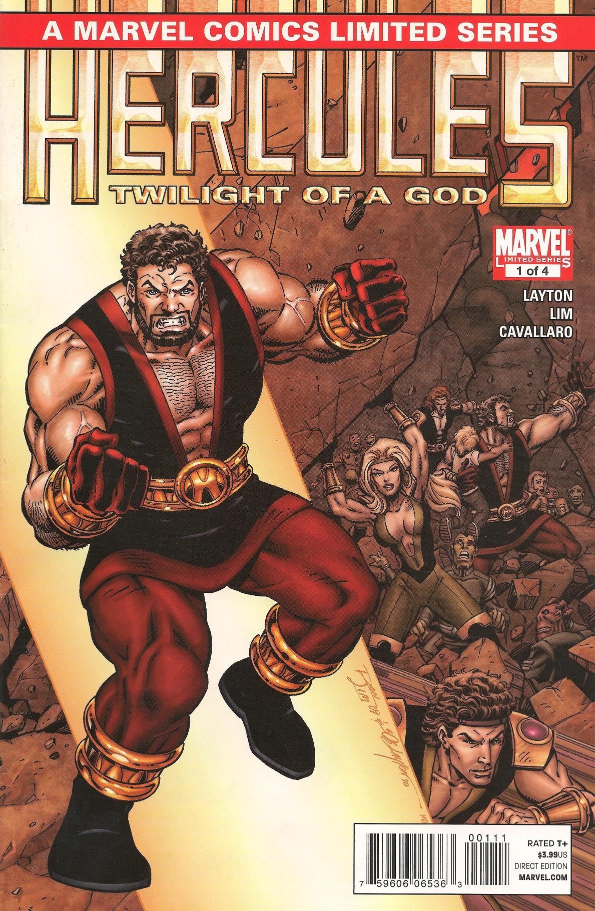 Hercules: Twilight of a God Vol 1 1