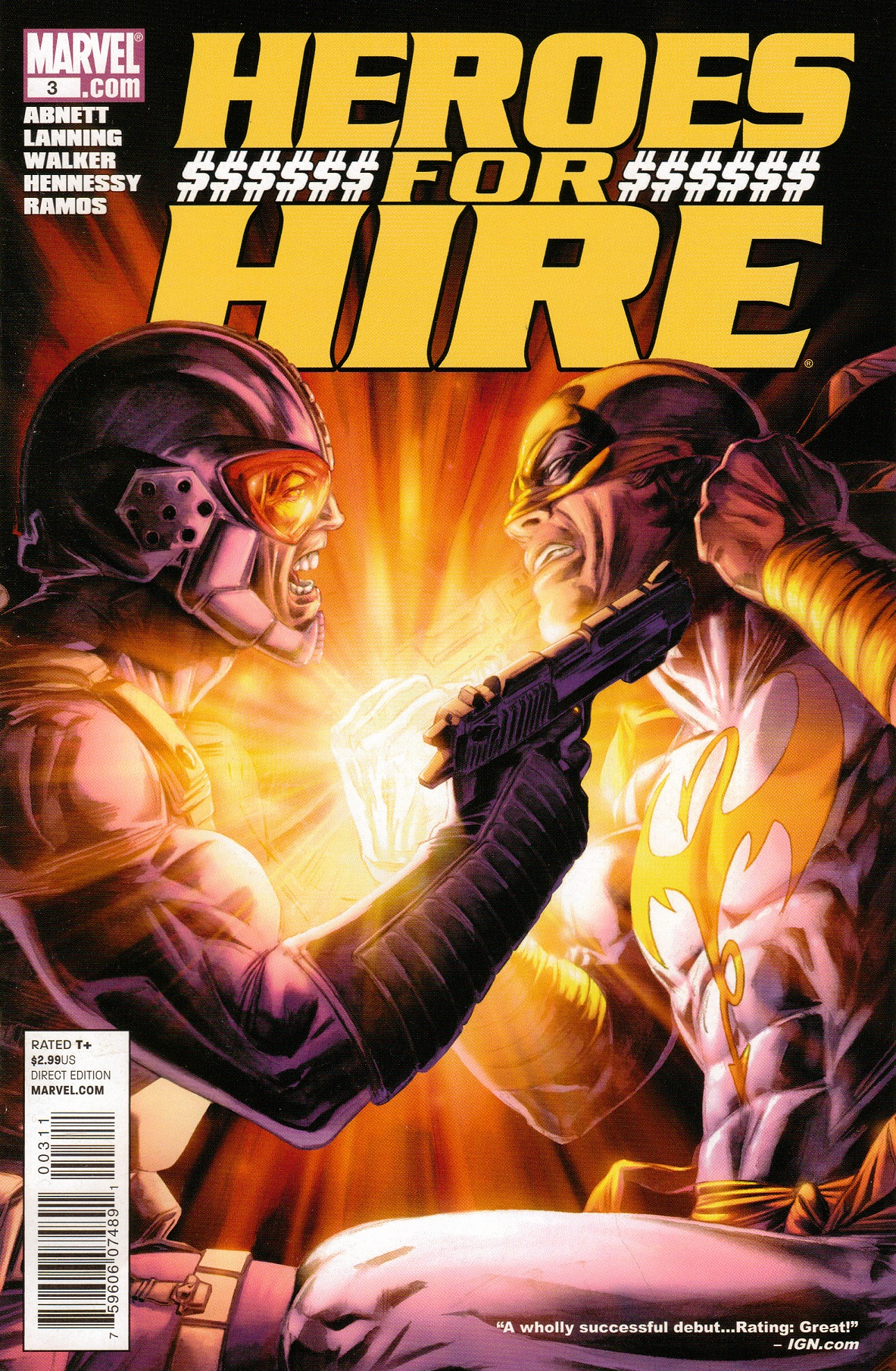 Heroes for Hire Vol 3 3