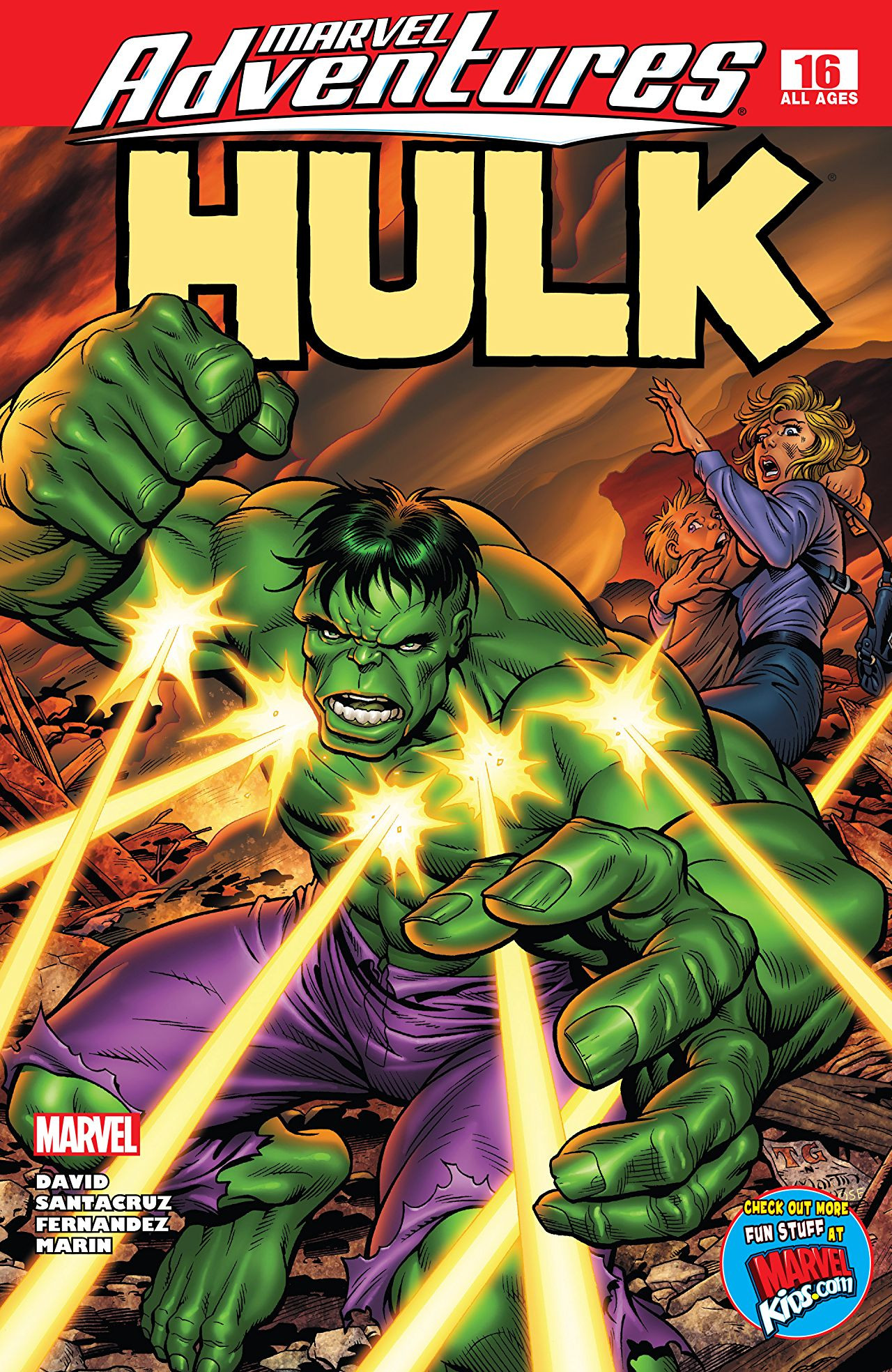 Marvel Adventures: Hulk Vol 1 16