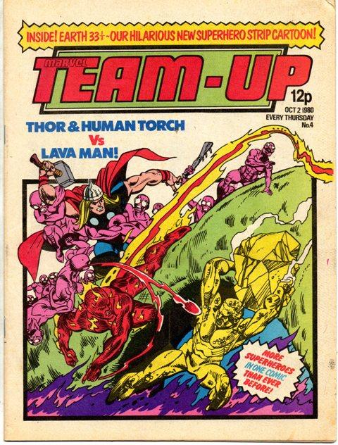 Marvel Team-Up (UK) Vol 1 4