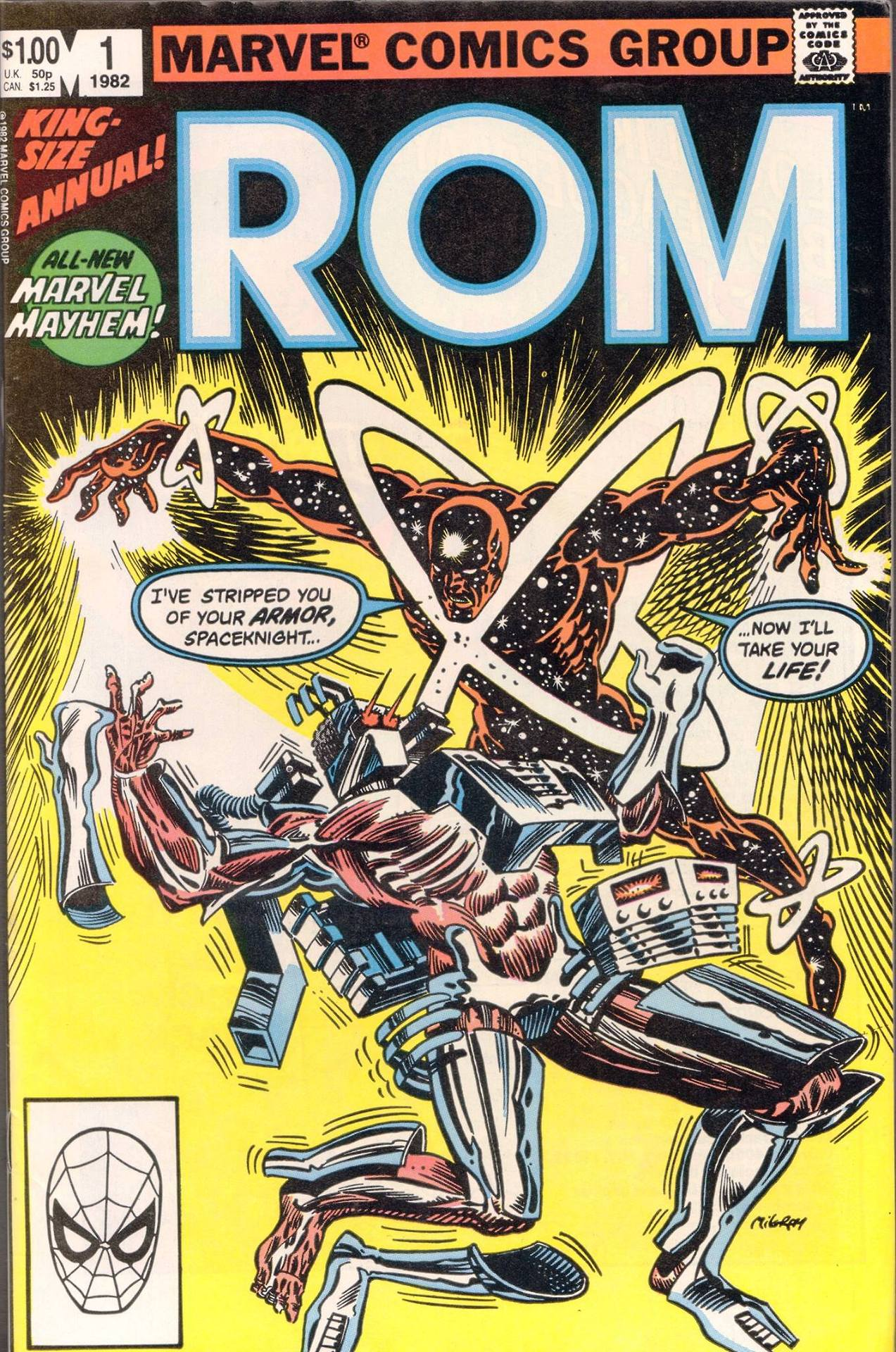 Rom Annual Vol 1 1
