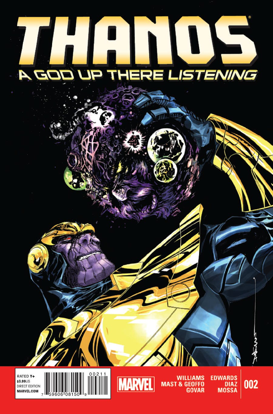 Thanos: A God Up There Listening Vol 1 2