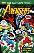 True Believers Black Widow & the Avengers Vol 1 1