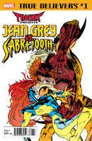 True Believers Phoenix Presents Jean Grey vs. Sabretooth Vol 1 1