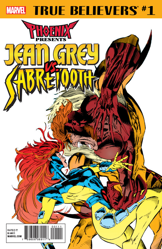 True Believers: Phoenix Presents Jean Grey vs. Sabretooth Vol 1 1