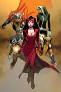 Uncanny Avengers Vol 1 1 Olivier Copiel Variant Textless