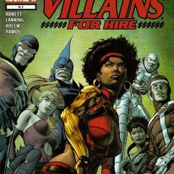 Villains for Hire Vol 1 0.1
