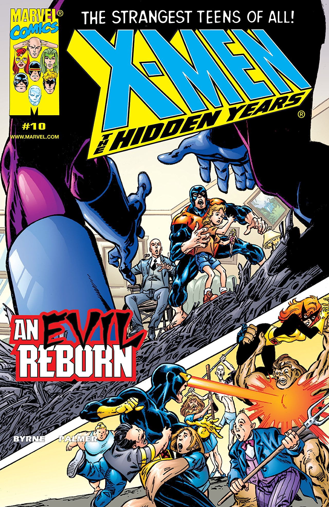 X-Men: The Hidden Years Vol 1 10