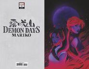 Demon Days Mariko Vol 1 1 Bartel Virgin Variant
