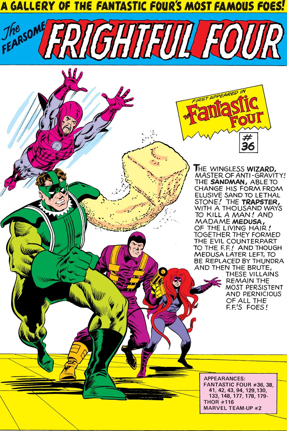 Frightful Four (Earth-616) from Fantastic Four Annual Vol 1 14 0001.jpg