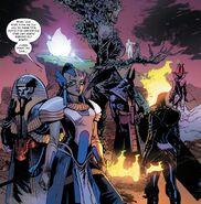 Genesis (Earth-616) and Horsemen of Apocalypse (Earth-616) from X-Men Vol 5 13 001