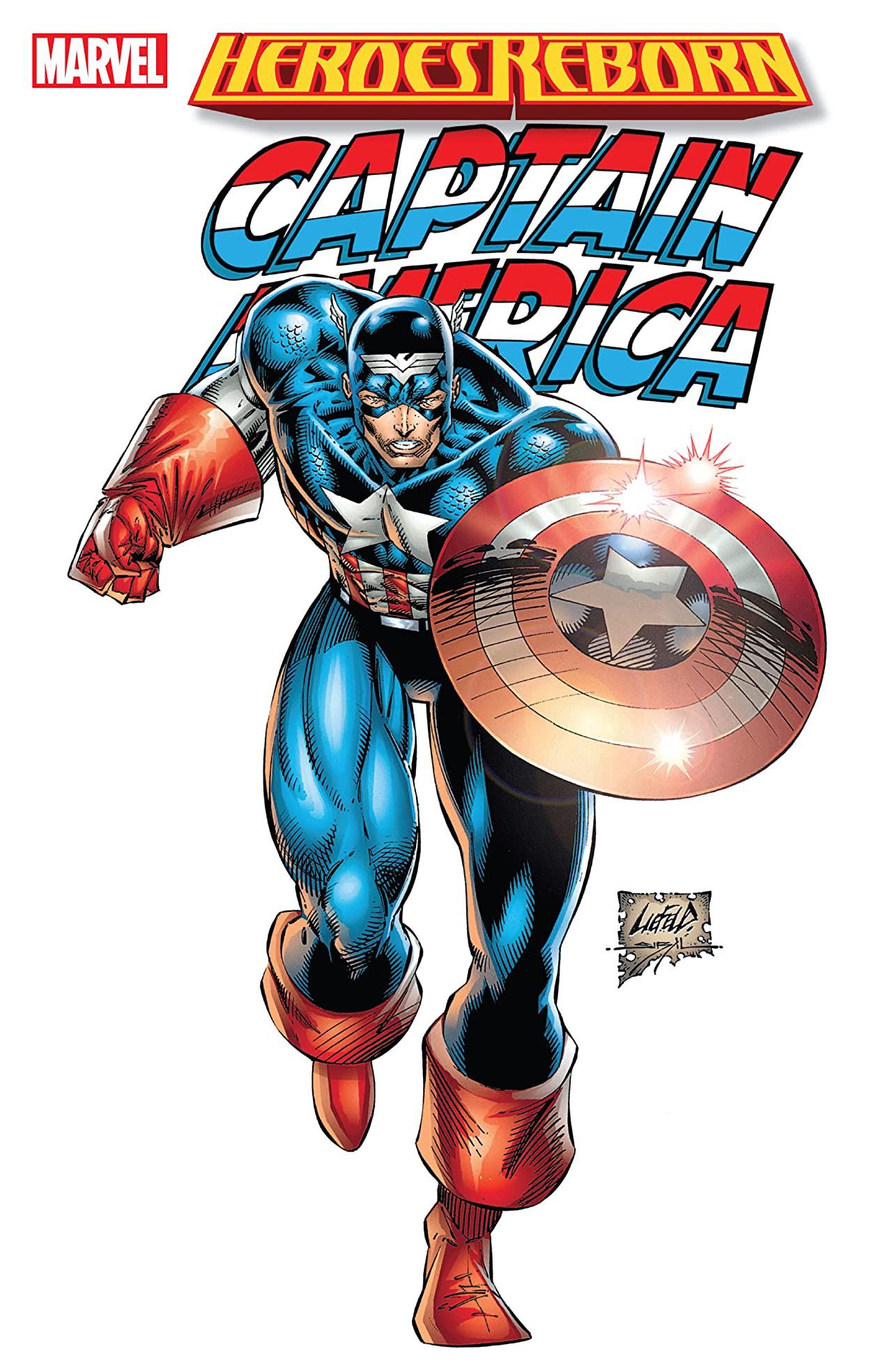 Heroes Reborn: Captain America TPB Vol 2 1