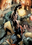 James Proudstar (Earth-616) and Warpath's Knives from Uncanny X-Men Vol 1 475 001