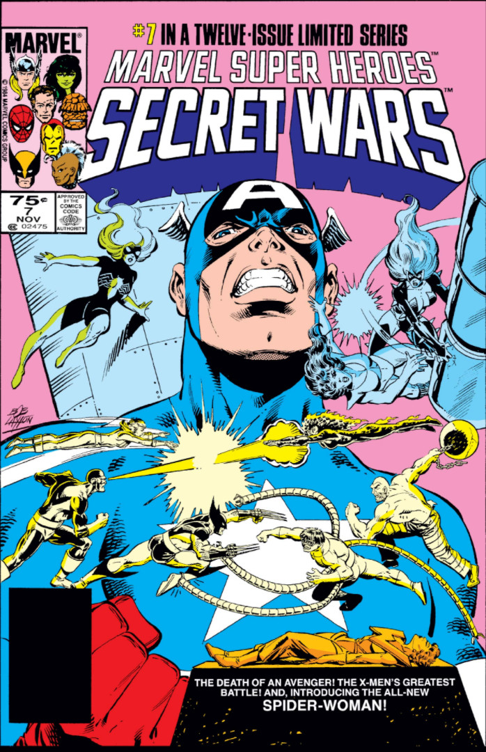 Marvel Super Heroes Secret Wars Vol 1 7