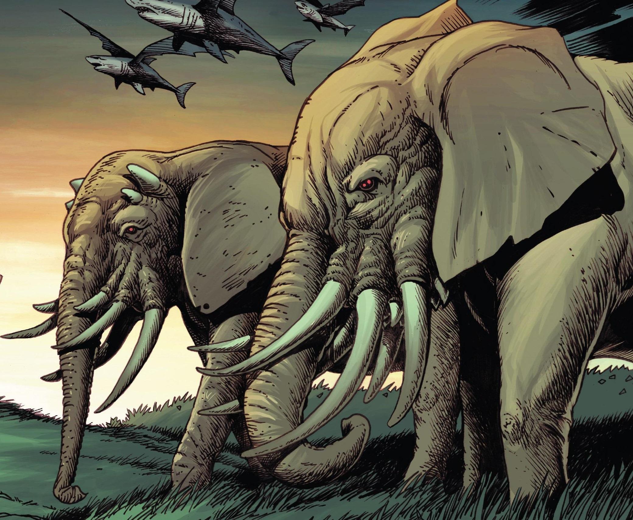 Multi-Tusked Elephants