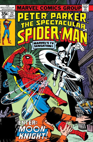 Peter Parker, The Spectacular Spider-Man Vol 1 22.jpg