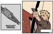 Rocket Arrow from Hawkeye Vol 4 3 001