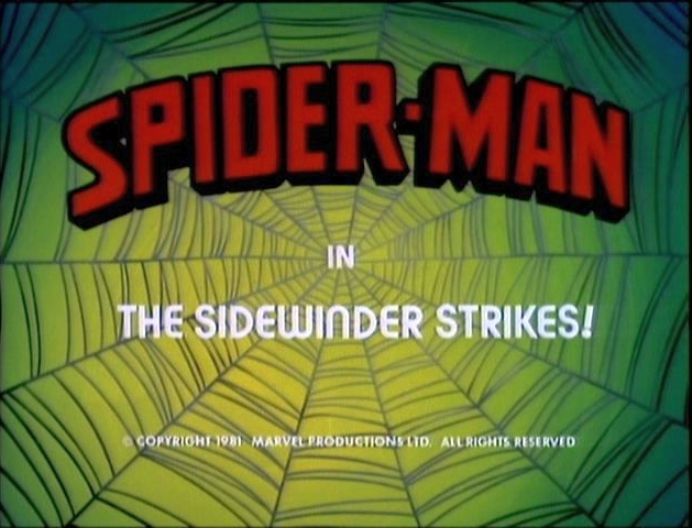 Spider-Man (1981 animated series) Season 1 13