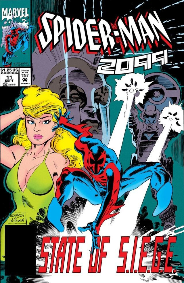 Spider-Man 2099 Vol 1 11