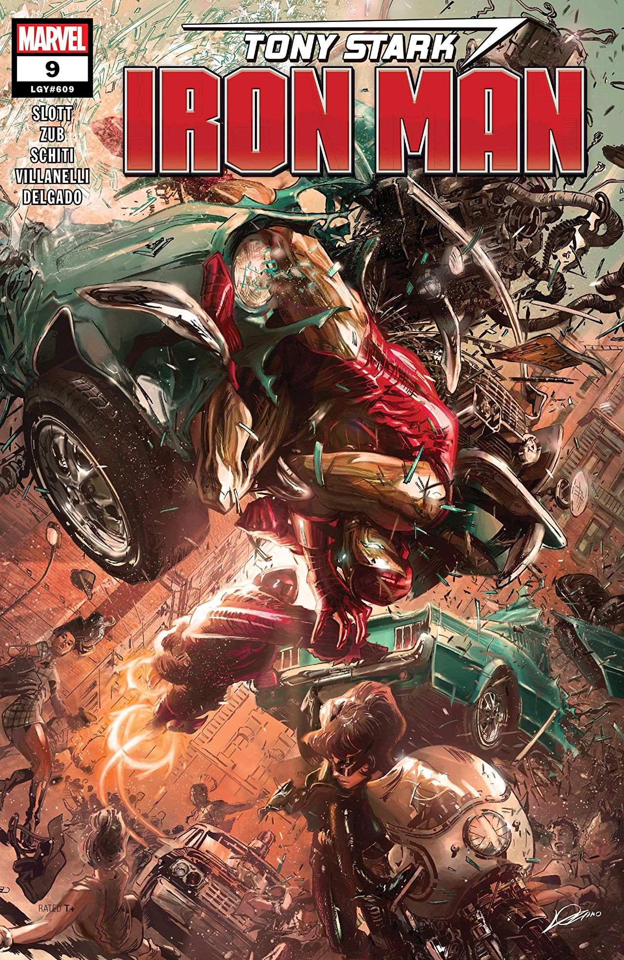 Tony Stark: Iron Man Vol 1 9