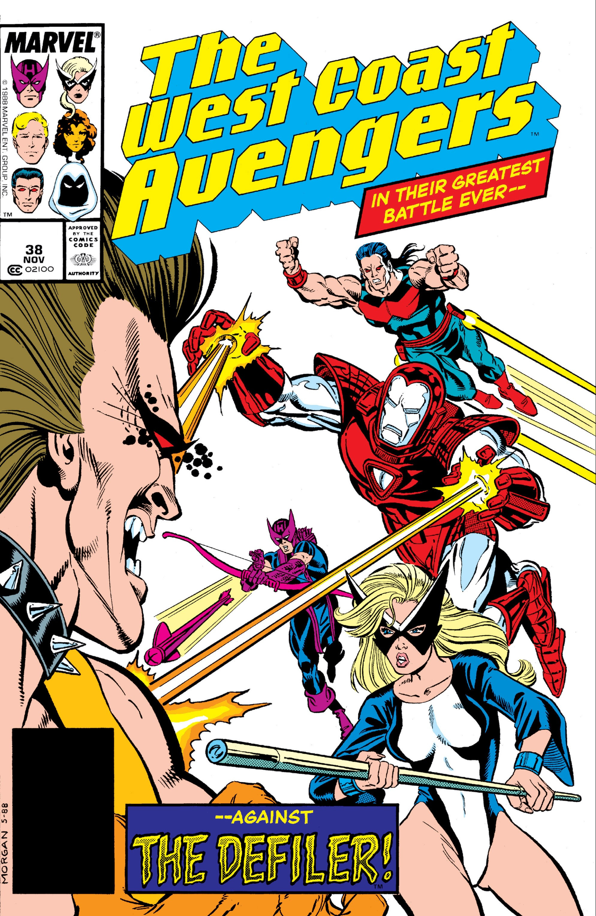 West Coast Avengers Vol 2 38